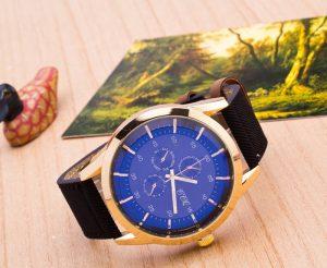 Висок клас мъжки часовник със сапфирено стъкло