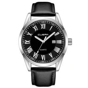 Масивен сребрист мъжки часовник