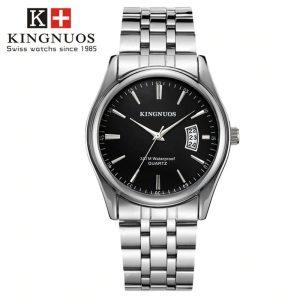 Стоманен мъжки часовник King Nuos
